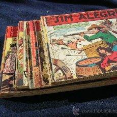 Tebeos: JIM ALEGRIAS ORIGINAL COMPLETA Y SUELTA VER FOTOS. Lote 24402311