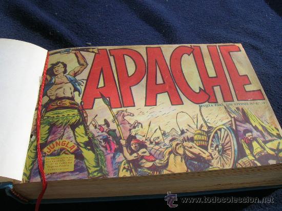 APACHE PRIMERA SERIE MAGA BIEN ENCUADERNADA ORIGINAL COMPLETA (Tebeos y Comics - Maga - Apache)