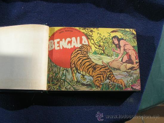 BENGALA PRIMERA COMPLETA BIEN ENCUADERNADA Y ORIGINAL (Tebeos y Comics - Maga - Bengala)