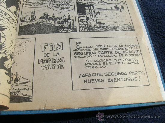 Tebeos: APACHE PRIMERA SERIE MAGA BIEN ENCUADERNADA ORIGINAL COMPLETA - Foto 3 - 24436443