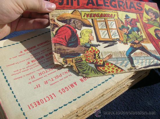 Tebeos: JIM ALEGRIAS ORIGINAL COMPLETA Y SUELTA VER FOTOS - Foto 2 - 24402311