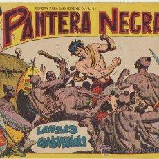 Tebeos: PANTERA NEGRA Nº 2. MAGA.. Lote 24389706