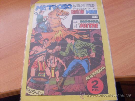 CAPITAN MIKI Nº 6 ( ORIGINAL ED MAGA ) (S3) (Tebeos y Comics - Maga - Otros)