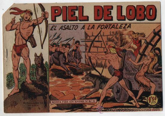 PIEL DE LOBO Nº 52. MAGA 1959. (Tebeos y Comics - Maga - Piel de Lobo)