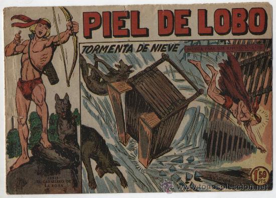 PIEL DE LOBO Nº 32. MAGA 1959. (Tebeos y Comics - Maga - Piel de Lobo)