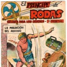 Tebeos: EL PRINCIPE DE RODAS Nº 3 , MAGA 1960, ORIGINAL,. Lote 24756035