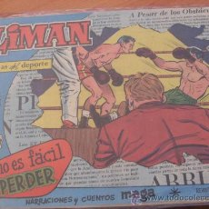 Tebeos: OLIMAN Nº 49 ( ORIGINAL ED. MAGA ) RECREATIVO HUELVA EN CONTRAPORTADA (S3). Lote 24766183