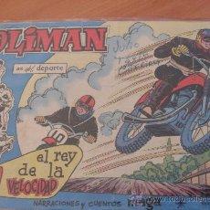 Tebeos: OLIMAN Nº 45 ( ORIGINAL ED. MAGA ) CLUB ATLETICO CEUTA EN CONTRAPORTADA (S3). Lote 24766202