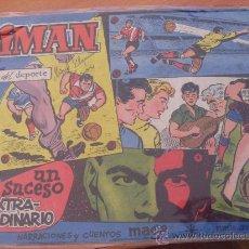 Tebeos: OLIMAN Nº 25 ( ORIGINAL ED. MAGA ) REAL CLUB DEPORTIVO MALLORCA EN CONTRAPORTADA (S3). Lote 24766392