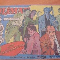 Tebeos: OLIMAN Nº 14 ( ORIGINAL ED. MAGA ) JUGADOR GENSANA EN CONTRAPORTADA (S3). Lote 24766452