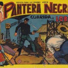 Tebeos: LOTE DE 4 EJEMPLARES PANTERA NEGRA - ED.MAGA 1964 (Nº 30,33,35,36). Lote 24816388