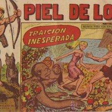 Tebeos: PIEL DE LOBO Nº 61 - ED.MAGA 1959 (ORIGINAL). Lote 24821243
