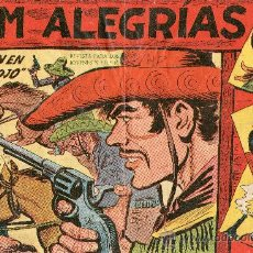 Tebeos: JIM ALEGRIAS 1960 Nº9 REBELION EN MONTE ROJO. Lote 24829390