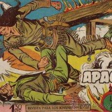 Tebeos: APACHE 2ª PARTE Nº II-4 - ED.MAGA 1957 (ORIGINAL). Lote 24894832