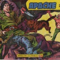 Tebeos: APACHE 2ª PARTE Nº II-7 - ED.MAGA 1957 (ORIGINAL). Lote 24895121