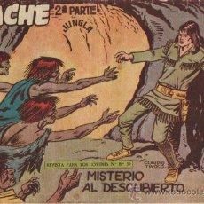 Tebeos: APACHE 2ª PARTE Nº II-39 - ED.MAGA 1957 (ORIGINAL). Lote 24895265