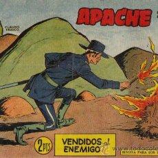 Tebeos: APACHE 2ª PARTE Nº II-72 - ED.MAGA 1957 (ORIGINAL). Lote 24895305