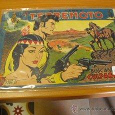 Livros de Banda Desenhada: EL TERREMOTO Nº 42,PICO CORTADO POR LO DEMAS BUENO. Lote 24918260