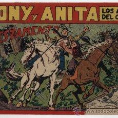 Tebeos: TONY Y ANITA Nº 92. MAGA 1951.. Lote 24963183