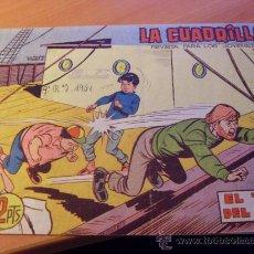 Tebeos: LA CUADRILLA Nº 16 ( ORIGINAL ED. MAGA ) (S4). Lote 24963830
