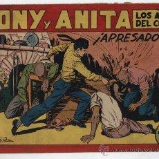 Tebeos: TONY Y ANITA Nº 111. MAGA 1951.. Lote 24963967
