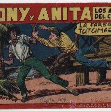 Tebeos: TONY Y ANITA Nº 112. MAGA 1951.. Lote 24964727