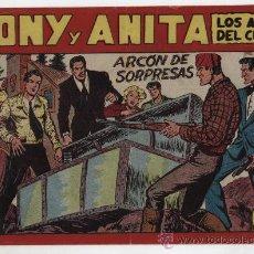Tebeos: TONY Y ANITA Nº 120. MAGA 1951.. Lote 24964798
