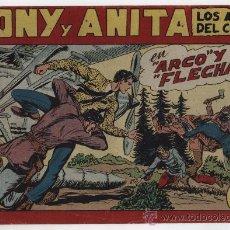 Tebeos: TONY Y ANITA Nº 126. MAGA 1951.. Lote 24964873