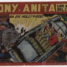 Tebeos: TONY Y ANITA Nº 129. MAGA 1951.. Lote 24964882