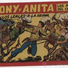 Tebeos: TONY Y ANITA Nº 147. MAGA 1951.. Lote 24969797