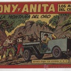 Tebeos: TONY Y ANITA Nº 152. MAGA 1951. SIN ABRIR. Lote 24974430