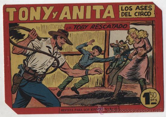 TONY Y ANITA Nº 153. MAGA 1951. ULTIMO DE LA COLECCIÓN. SIN ABRIR (Tebeos y Comics - Maga - Tony y Anita)