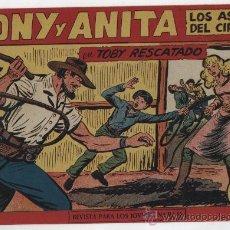 Tebeos: TONY Y ANITA Nº 153. MAGA 1951. ULTIMO DE LA COLECCIÓN. SIN ABRIR. Lote 24974456
