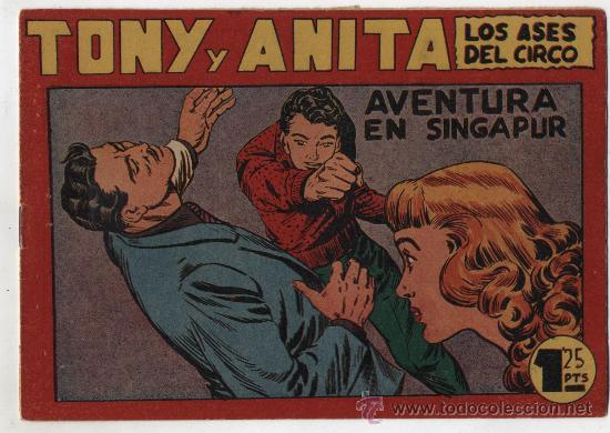 TONY Y ANITA Nº 58. MAGA 1951. (Tebeos y Comics - Maga - Tony y Anita)