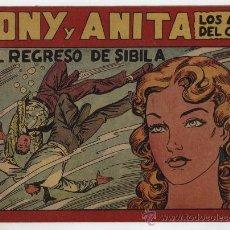 Tebeos: TONY Y ANITA Nº 59. MAGA 1951.. Lote 24983459
