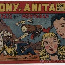 Tebeos: TONY Y ANITA Nº 72. MAGA 1951.. Lote 24983836