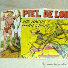 Tebeos: COMIC, PIEL DE LOBO, DOS MAGOS FRENTE A FRENTE, Nº 22, MAGA, 1959. Lote 25061629