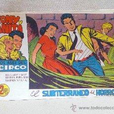 Tebeos: COMIC, TONY Y ANITA, EL SUBTERRANEO DEL HORROR, Nº79, EDITORIAL MAGA , ORIGINAL. Lote 25089958