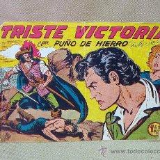 Tebeos: COMIC, ORIGINAL, PUÑO DE HIERRO, Nº 26, TRISTE VICTORIA, MAGA. Lote 25219051
