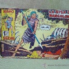 Tebeos: COMIC, ORIGINAL, RAYO DE LA SELVA, LA RISA DE NANGALUNTA, EDITORIAL MAGA, Nº 20, 1960. Lote 25221437