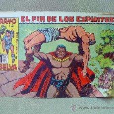 Tebeos: COMIC, ORIGINAL, RAYO DE LA SELVA, EL FIN DE LOS ESPIRITUS, EDITORIAL MAGA, Nº 9, 1960. Lote 25221524