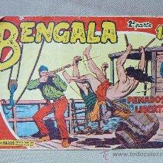 Tebeos: COMIC, BENGALA, PENADOS EN LIBERTAD, Nº 17, ORIGINAL, MAGA. Lote 25236804