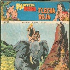 Tebeos: PANTERA NEGRA Y FLECHA ROJA Nº 83, EDITORIAL MAGA. Lote 46653510