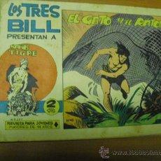 Tebeos: LOS TRES BILL SAHI TIGRE Nº 43, MAGA 1964. Lote 27417949