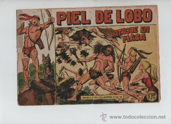 PIEL DE LOBO Nº13 ORIGINAL (Tebeos y Comics - Maga - Piel de Lobo)
