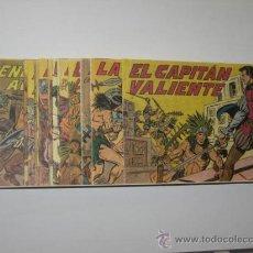 Tebeos: EL CAPITAN VALIENTE COMPLETA 22 NÚMS. EDITORIAL MAGA REEDICIÓN. Lote 205301192