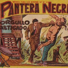 Tebeos: PANTERA NEGRA Nº 32 - ED.MAGA 1956 (ORIGINAL). Lote 25240868