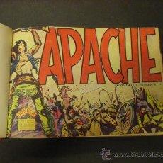 Tebeos: COLECCIÓN COMPLETA DE APACHE. 1ª SERIE. AÑO 1956. EDITADA POR MAGA.. Lote 25708666