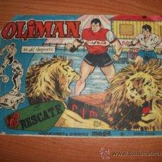 Tebeos: OLIMAN Nº 16 ORIGINAL EDITORIAL MAGA . Lote 26515742
