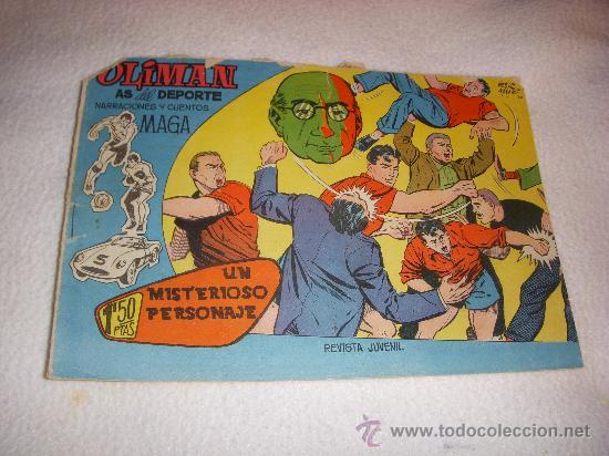 OLIMAN Nº 5, EDITORIAL MAGA (Tebeos y Comics - Maga - Oliman)